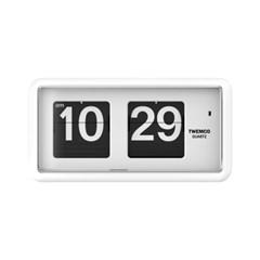 [TWEMCO] QT-30.WH 트웸코 플립시계 (건전지포함) 벽+탁상겸용