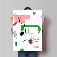 두들 유쓰 youth M 유니크 인테리어 디자인 포스터