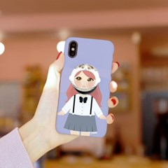 리틀페어리 애니멀 페이스톡톡 3D 하드케이스