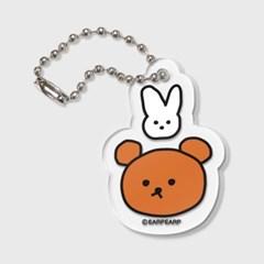 Bear and rabbit(키링)_(1371319)
