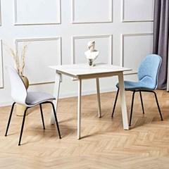 디센 제네로이 2인용 세라믹 식탁 유스토 의자 세트_(10955489)
