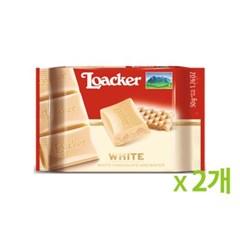 로아커 초콜릿 클래식 화이트 50g 2개묶음_(886997)