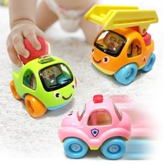8P 세트 베이비 꼬마자동차 미니카