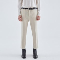 MINIMAL STRAIGHT FIT SLACKS_IVORY