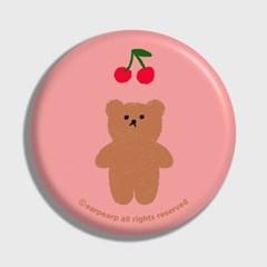 Cherry big bear-pink(거울)_(1371362)