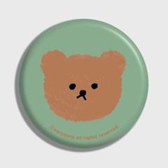Dot big bear-pastel mint(거울)_(1371363)