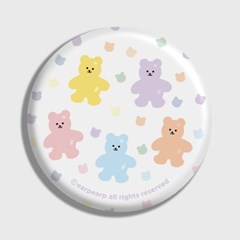 Bear friends-white(거울)_(1371367)