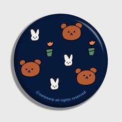 Bear and rabbit-navy(거울)_(1371378)