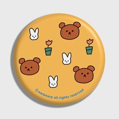 Bear and rabbit-yellow(거울)_(1371380)