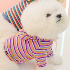 Lollipop Crop Hoodie (Pink)