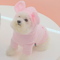 Teddy Bear Fur Hoodie (Pink)