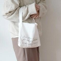 보누르 미니 에코백 - white