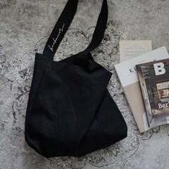 보누르 원스트랩 에코백 - black