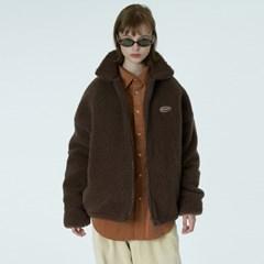 Original embroidery fleece jacket-brown_(1376630)