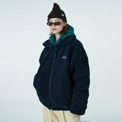 Original embroidery fleece jacket-navy_(1376627)