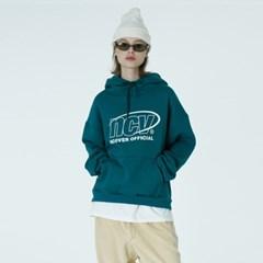 Back logo point hoodie-emerald_(1376688)
