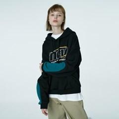 Color sleeve point hoodie-black_(1376681)