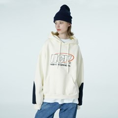 Color sleeve point hoodie-ivory_(1376680)