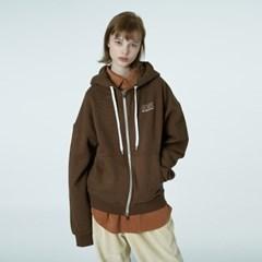 Ncv logo hoodie zipup-brown_(1376674)