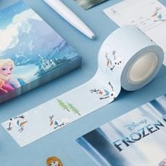 [디즈니]  메모 점착테이프_겨울왕국 올라프