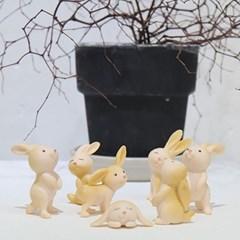 귀요미 토끼 7P세트 2color