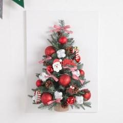 얼굴산타캔버스 트리 70cmP 크리스마스 미니 TRHMES_(1596956)