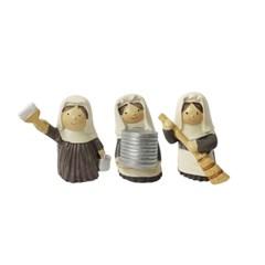 클린업 봉사 수녀 3종