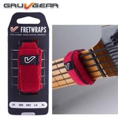 [Gruvgear] FretWraps Fire-그루브기어 프렛 랩-파이어 (레드) 컬러