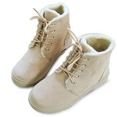 kami et muse Suede fur walker boots_KM19w135