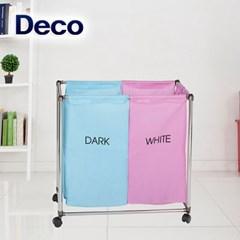 데코 세탁물분리보관함 핑크