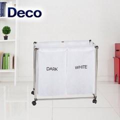 데코 세탁물분리보관함 화이트