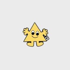 Eyes triangle(뱃지)_(1378527)