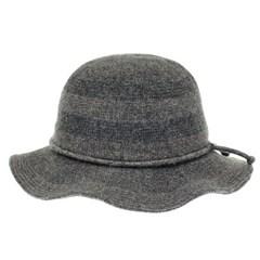[더그레이]HTU10.울혼방 ST 니트 여성 벙거지 모자