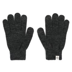 AW BASIC TOUCH GLOVES (charcoal)