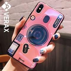 아이폰XS맥스 홀로그램 카메라 톡 젤리 케이스 P379_(2096674)