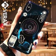 아이폰6S 홀로그램 카메라 톡 커버 젤리 케이스 P379_(2096681)