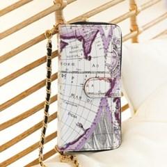 갤럭시S10 5G (G977) Mapa-H 지퍼 지갑 다이어리 케이스_(2416049)
