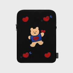 Bear heart-ipad pouch(아이패드 파우치)