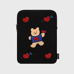 Bear heart(아이패드 파우치)_(1378538)