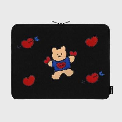 Bear heart-15inch notebook pouch