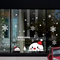 크리스마스 시트지 눈꽃 스티커 19CMJS5255_(992252)