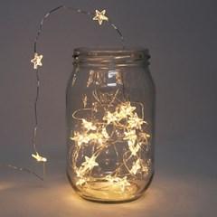 미니 반짝이는 별 LED 조명 가랜드