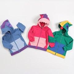 빛)  브롤 기모 후드집업/초등학생 옷