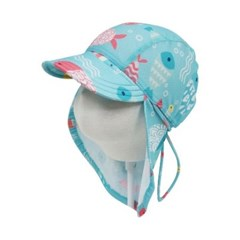 앨리빌리 베블루 플랩캡(수영모자 UV차단)
