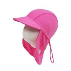 앨리빌리 핑크 플랩캡(수영모자 UV차단)