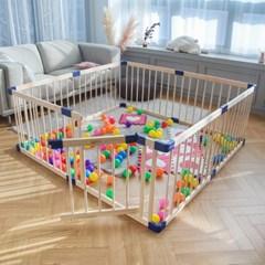 베이비룸 아기 원목 울타리