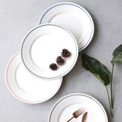 meresine 마인드터치 원형접시 (대) - 4color