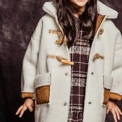 핑)무스탕 아동 코트