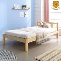 세이퍼 원목 침대 프레임  SS+견양면매트