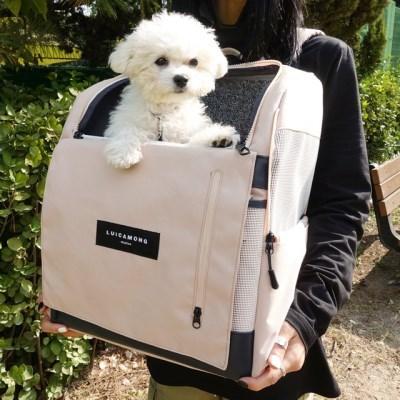 [사은품증정][루이까몽] 아밍백 강아지 고양이 백팩 이동가방 캐리어